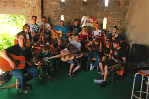 Gitarrenschule Mimi Studio-Scheune 2016