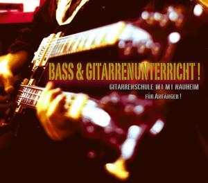 Bass & Gitarren Unterricht